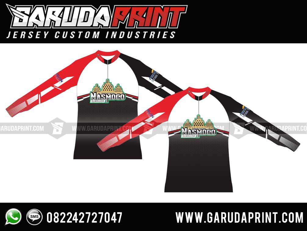 Produsen Jersey Sepeda Printing Desain Custom