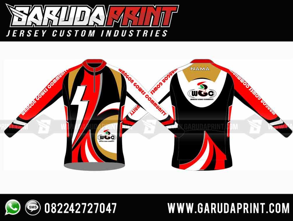 Produsen Kaos Club Sepeda Full Printing