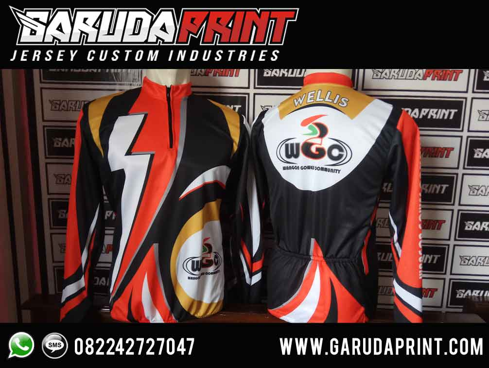 Produsen bikin Jersey Sepeda Indonesia Berkualitas