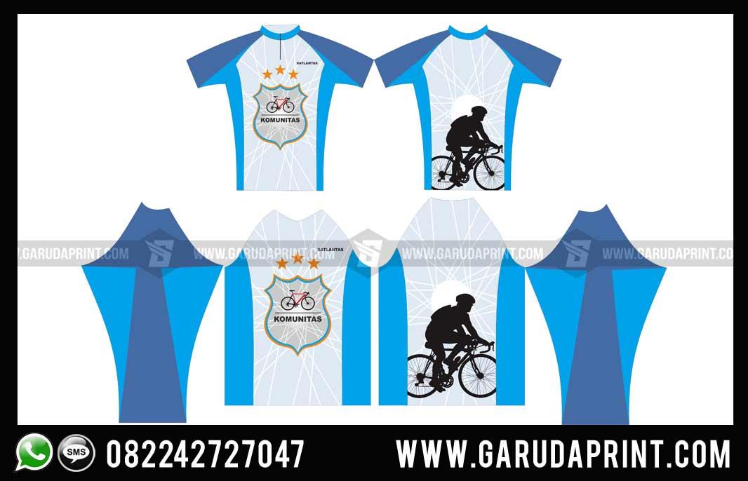 desain Jersey Sepeda Full Printing