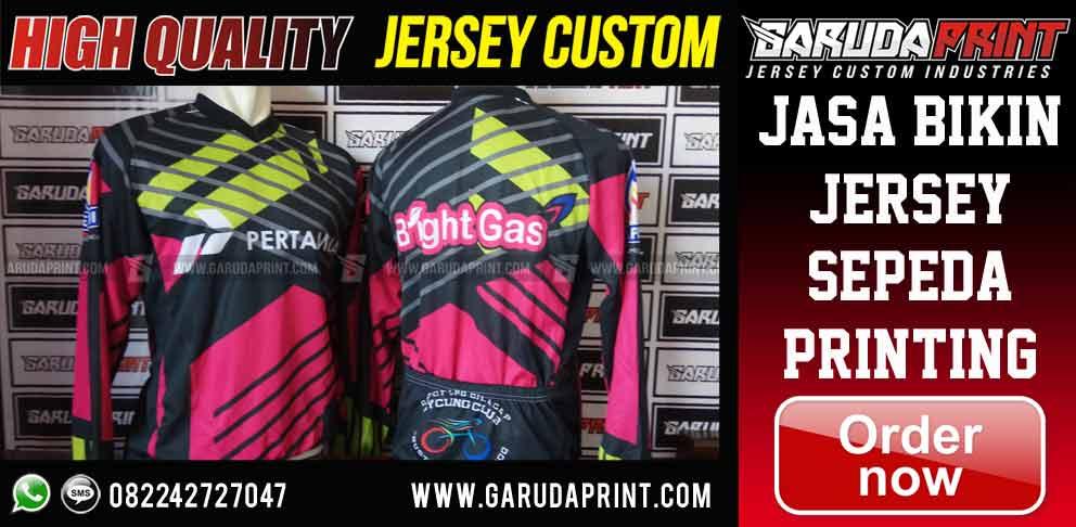 tempat Konveksi Jersey Sepeda Custom