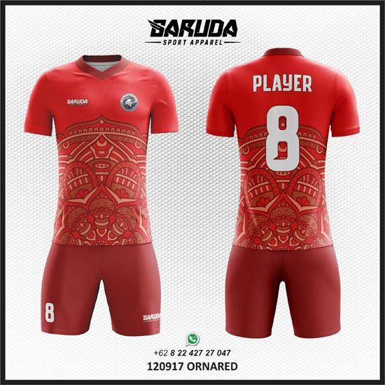 Desain Baju Futsal Motif Batik Berkualitas Tinggi