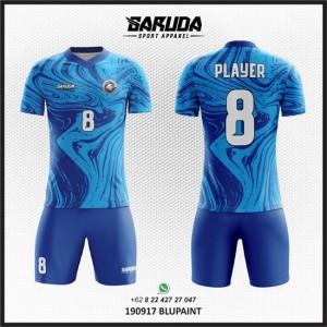 Desain Jersey Futsal Blupaint – Warna Biru