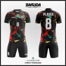 Desain Jersey Futsal Full Print Polyglass