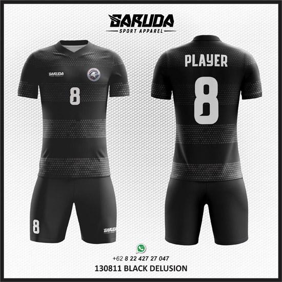 Desain Kaos Bola Hitam keren