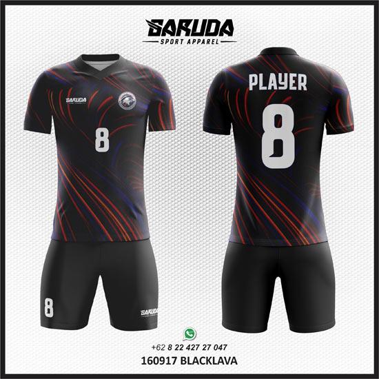 Desain Kaos Futsal Hitam Paling Dicari