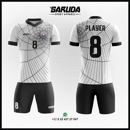 Desain Kaos Futsal Putih keren