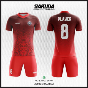 Desain Kostum Bola Futsal Balteeq