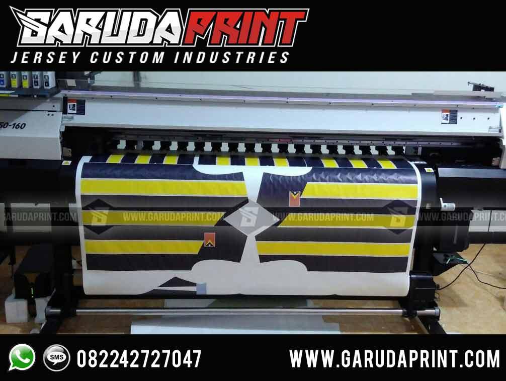 Jasa pembuatan Desain Kaos Futsal Kuning Hitam