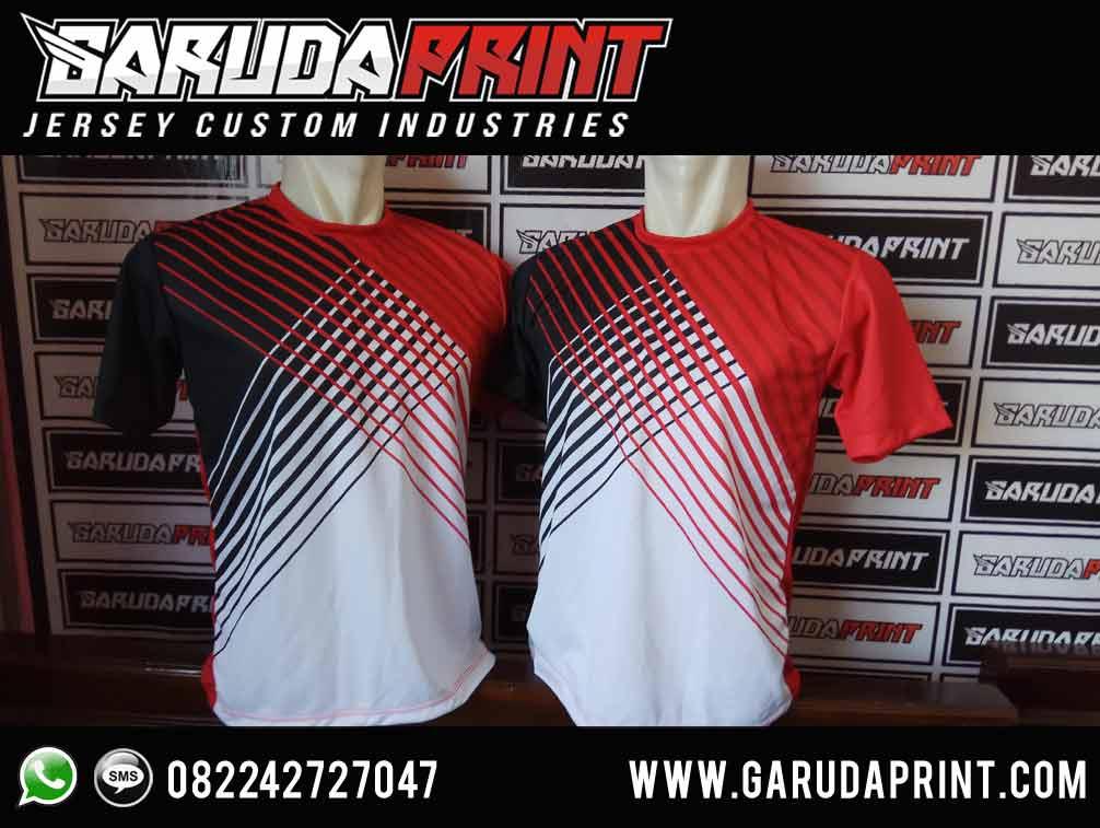 pembuat Kaos Jersey Badminton Custom printing