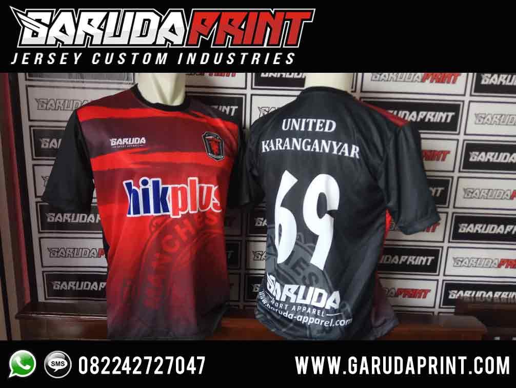 Pembuatan Desain Kaos Fans Bola Printing Garuda Print