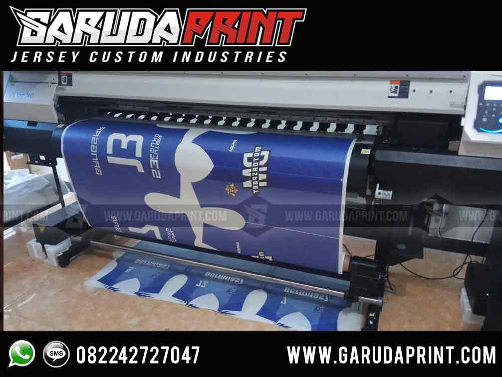 Pembuatan Jersey Printing BANK BTN