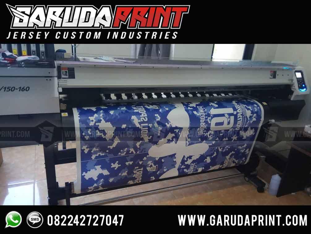 pembuatan Kaos Futsal Keren Depan Belakang Terbaru printing