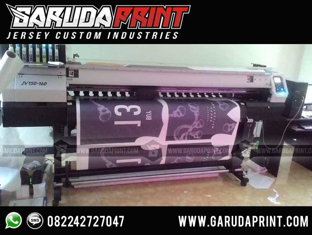 pembuatan kaos bola printing warna hitam