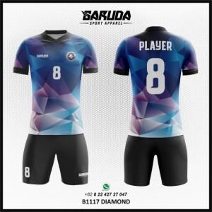 Desain Baju Bola Futsal Printing Diamond