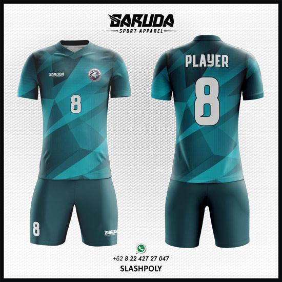 Desain Jersey Bola Futsal Full Print - Slashpoly