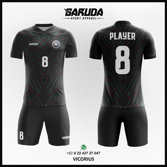 Desain Kaos Futsal Sepakbola Printing Vicorius