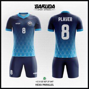 Desain Kostum / Seragam Futsal Printing Hexa Parallel