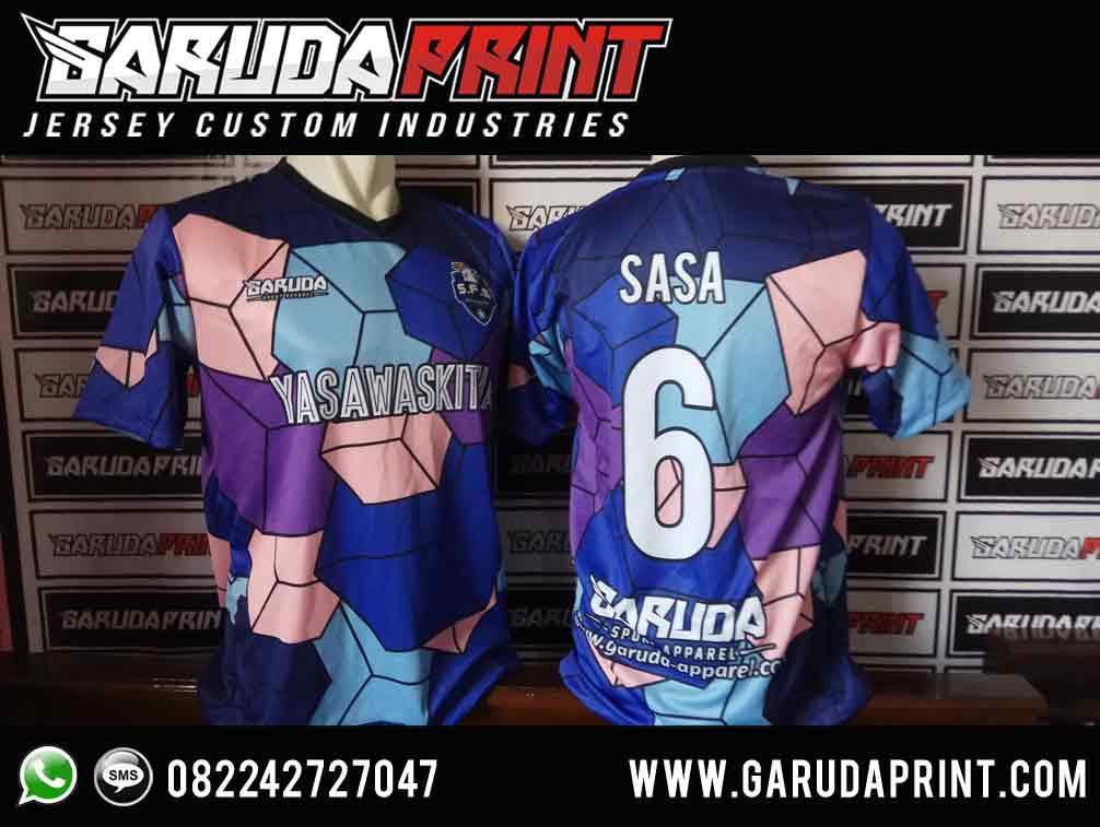 bikin Desain Kaos Futsal Printing Berkualitas