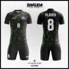 Desain Kostum Futsal Printing Hitam – Sclone