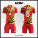 Desain Jersey Futsal Printing Gekastripred