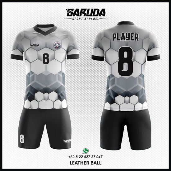 Desain Jersey Futsal Printing Leather Ball