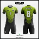 Desain Kaos Futsal Printing Green Arrow