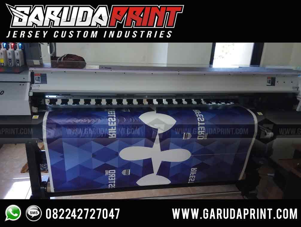 Pemesanan Pembuatan Kaos Jersey Full Printing bahan serena