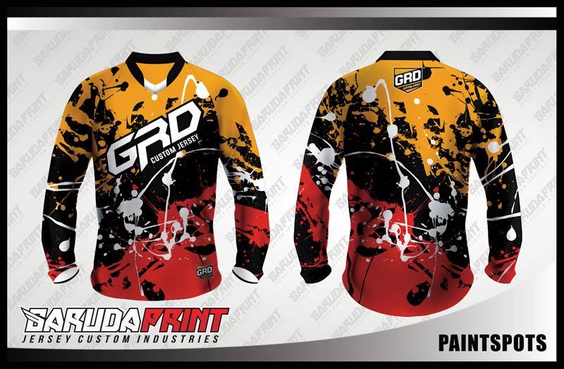 Koleksi Desain Jersey Sepeda Downhill 01