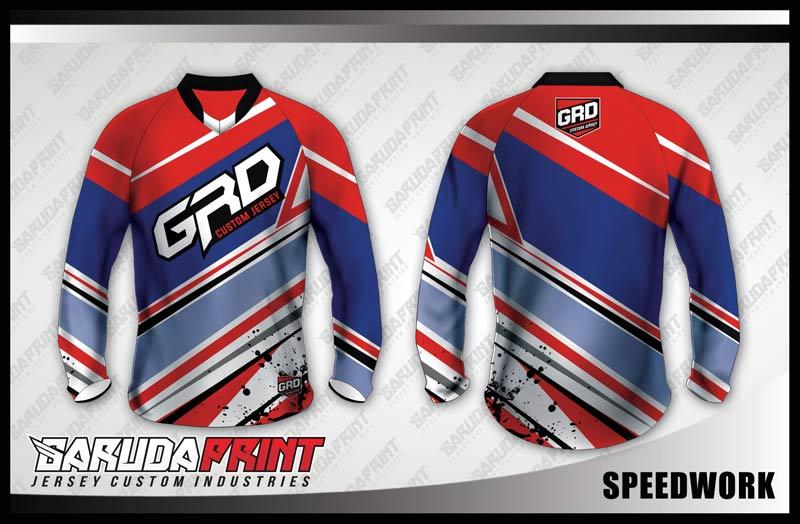 desain baju sepeda downhill full printing