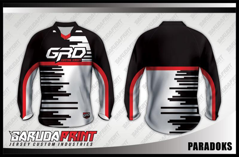 desain baju sepeda downhill simple