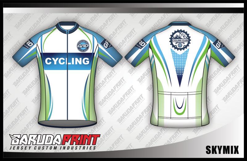 Tempat Pembuatan Kaos Sepeda Fun Bike Desain Sendiri