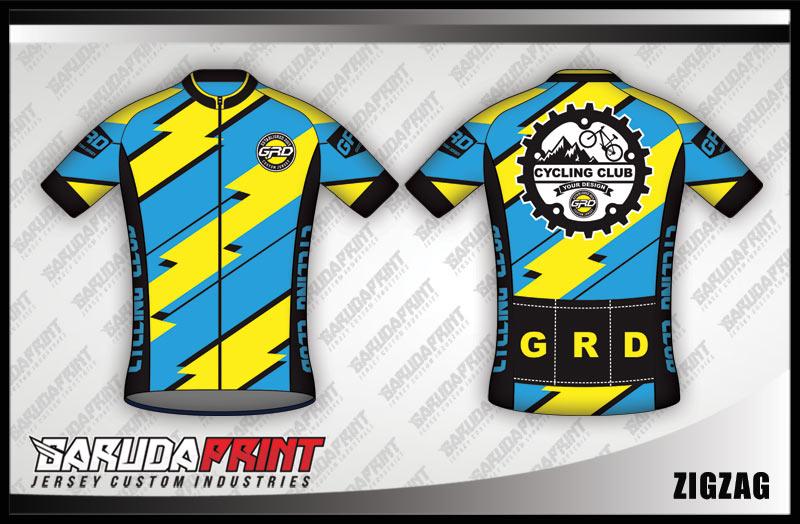 desain jersey baju kaos sepeda custom
