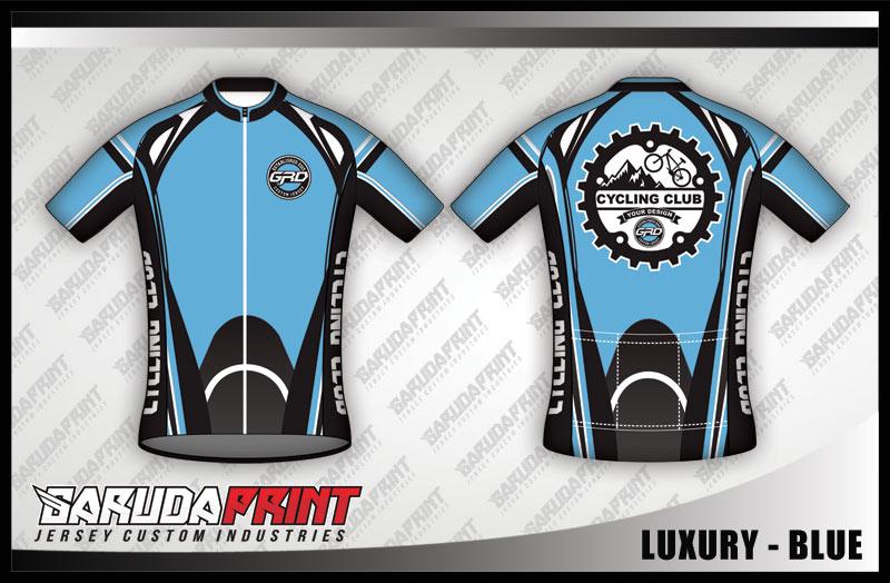 desain jersey baju sepeda gowes keren