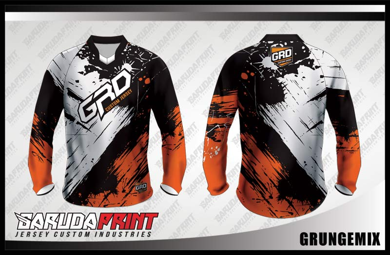 desain jersey sepeda downhill custom