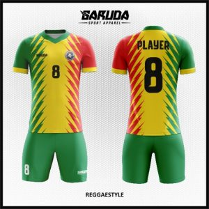 Desain Baju Futsal Terbaru Reggaestyle