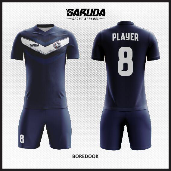 Desain Jersey Futsal Custom Boredook Warna Dongker