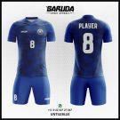 Desain Jersey Futsal Printing Untileblue Tampilan Mewah