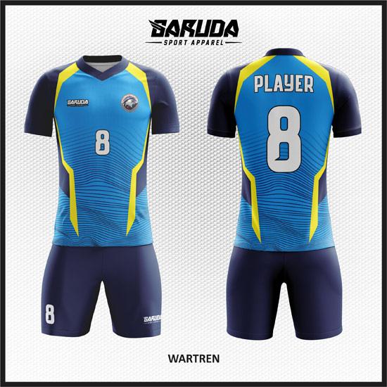 Desain Jersey Futsal Printing Wartren Simple dan Elegan
