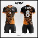 Desain Kaos Futsal Terbaru Cracky Motif Oke