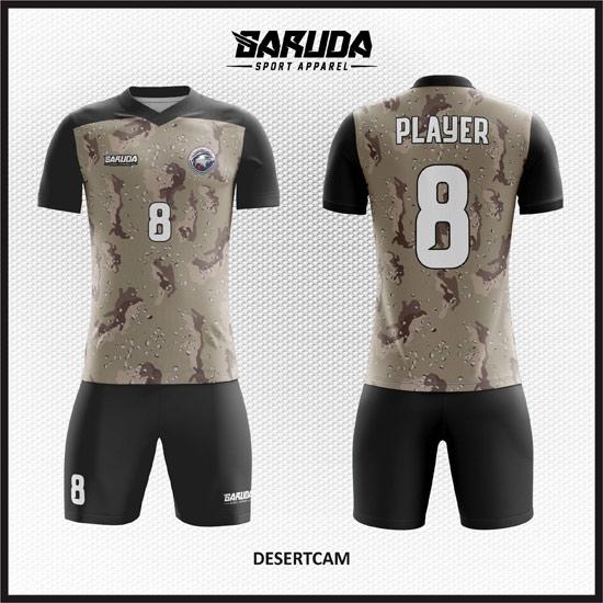 Desain Kostum Futsal Printing Desertcam Motif Keren dan Beda