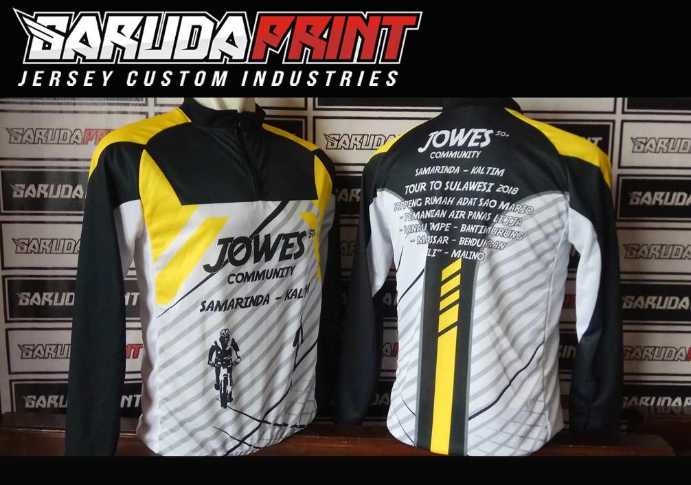 Portofolio Hasil Jadi Jersey Sepeda Printing