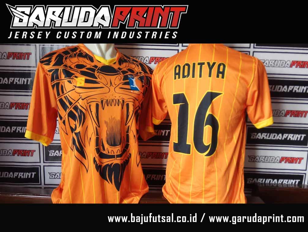 Portofolio Hasil Jadi Jersey Futsal Printing