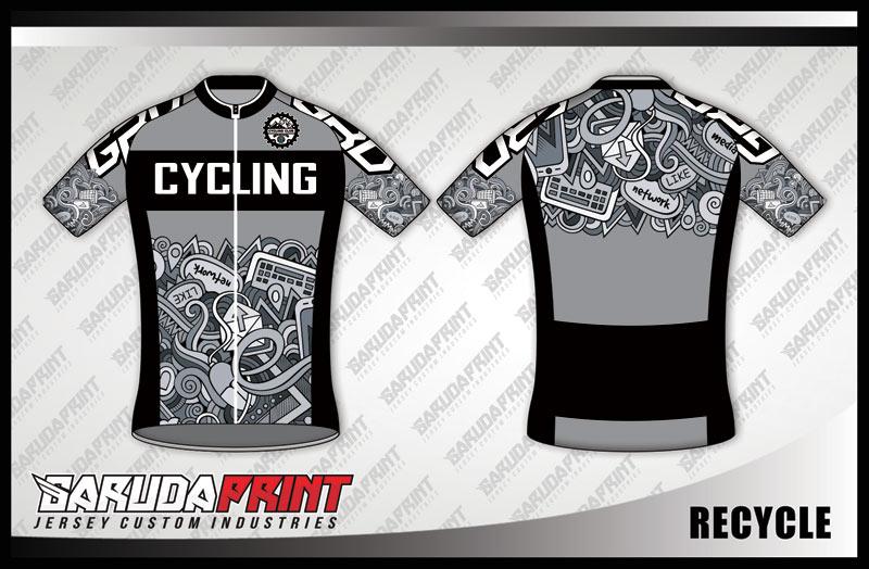 Koleksi Desain Baju Sepeda Gowes / Road Bike 05