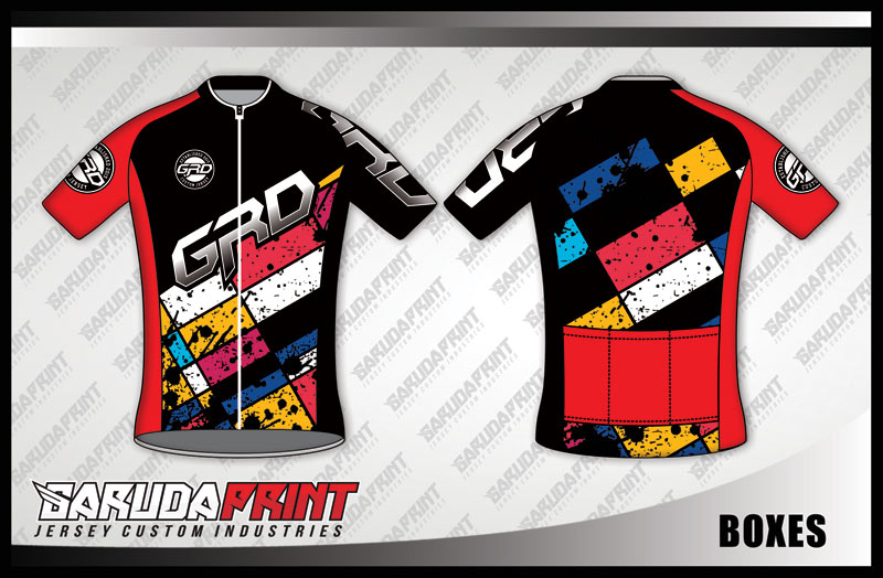 DESAIN JERSEY SEPEDA GOWES BOXES