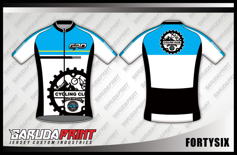 DESAIN JERSEY SEPEDA GOWES CODE FORTYSIX