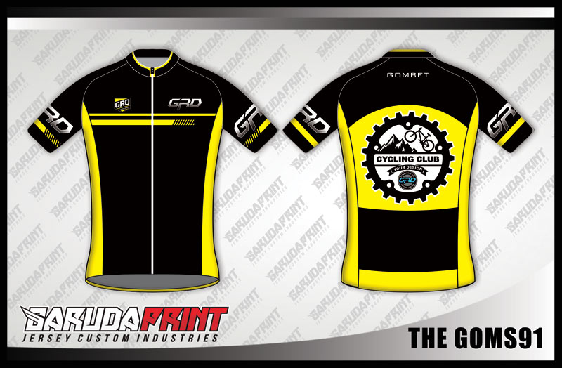 DESAIN JERSEY SEPEDA GOWES KODE THE-GOMS91