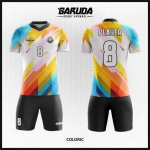 Desain Baju Sepakbola Futsal Coloric