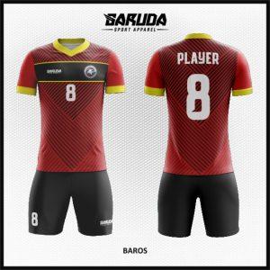 Desain Jersey Sepakbola  Futsal Code Baros