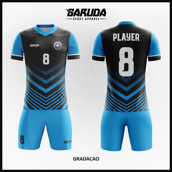 Desain Jersey Sepakbola dan Futsal Gradacao